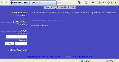 Silkeborg Floorball Adresseliste