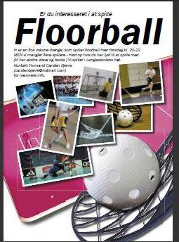 Silkeborg Floorball Plakat